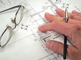 Come calcolare l'area e di scala per i piani di costruzione