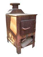 Come per accendere una stufa scatola di legno