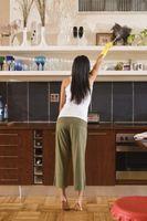 Come eliminare la polvere nella vostra casa