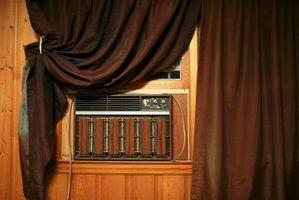Le grandi idee per coprire un muro condizionatore d'aria nella camera da letto