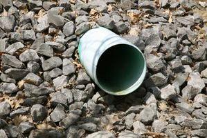 Come rimuovere tubo di scarico in PVC