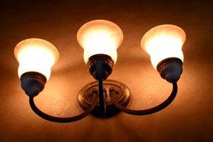 Come appendere Parti per le lampade