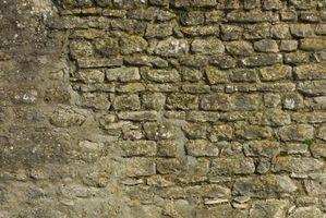 Come riparare fessure muratura in pietra