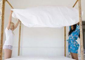 Come decorare un lenzuolo