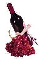 Bottiglia di vino decorazione della Cucina Temi