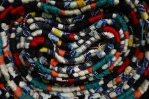 Come fare piedi tappeti di lana