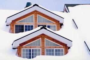 Che cosa succede se neve sul tetto ostruisce i tubi di sfiato?
