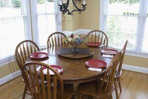 Living room interior design idee con tavolo da pranzo