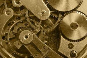 Come far funzionare un anniversario tedesco Clock