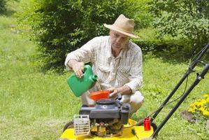 Come funziona un motore Lawn Mower?