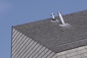Come cancellare un intasato fogna Vent sul tetto