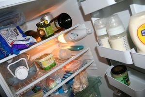 Come faccio a riparare un frigorifero Whirlpool che ha gelo nel gelo libera congelatore?