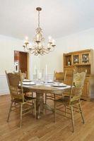 Come determinare chiaro Dimensione in una cucina su un tavolo