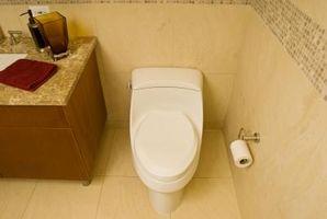 Servizi igienici flangia Istruzioni per l'installazione per case mobili