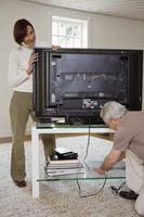 Come nascondere cavi televisivi e Cavi