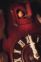 I movimenti di un orologio di cuculo