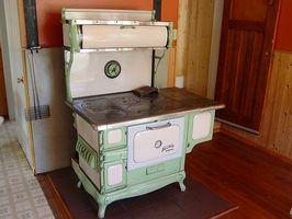 Quali sono le parti di una cucina stufa a legna?