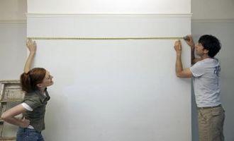 Come calcolare Liner Video per la misurazione del muro a secco