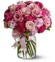 Come disporre i fiori e nastri