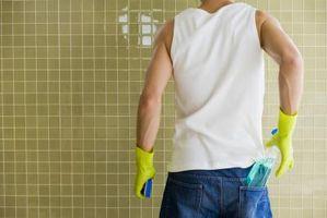 Come ottenere depositi di calcio Off doccia piastrelle