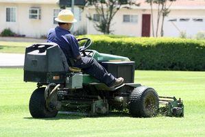 Come affilare Lawn Mower Lame su uno commerciale Lawn Mower