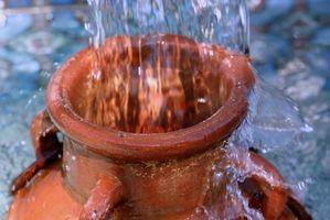 Come costruire esterno con fontane e Vasi e Urne