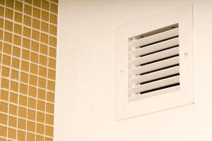 La corretta posizione di un ritorno dell'aria fredda in casa per un forno a gas