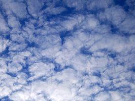 Punte di pittura per la pittura Nuvole sul soffitto