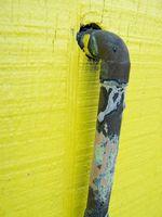 Come riparare un buco in tubi di rame