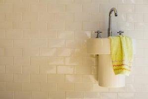 Come installare un muro Modello Sink