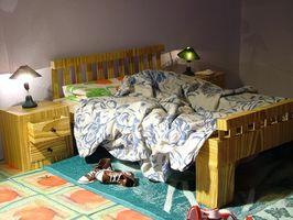 Idee a colori per la camera da letto di una ragazza