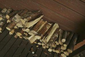 Come misurare il contenuto di acqua in legna da ardere