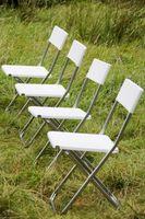 Come decorare sedie pieghevoli in metallo per un bambino doccia