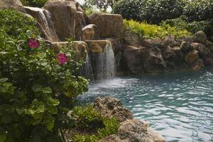 Le migliori cascate di roccia per piscine