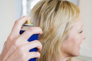 Come ottenere Hairspray Off legno finito