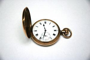 Come regolare orologi da tasca