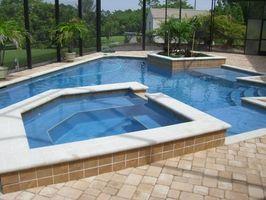 Come per l'inverno un Gunite piscina