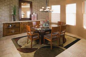 Come dividere una stanza piccolo soggiorno per fare una zona pranzo
