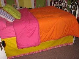 Come fare una gonna letto
