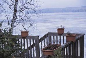 Cosa utilizzare su un ponte di legno per sciogliere il ghiaccio