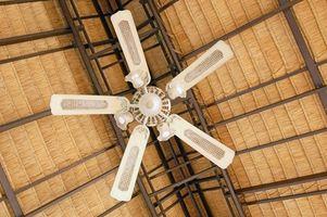 Ventilatore a soffitto Attrezzi per la pulizia