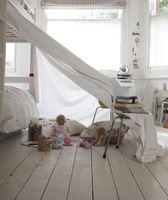 Girando un divano letto In un Loft Bed
