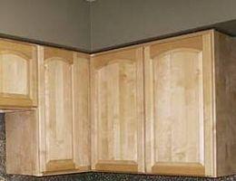 Come Stain vecchi mobili da cucina