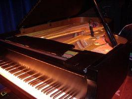 Come decorare una stanza che include un pianoforte a coda