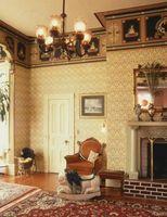 Decorazione e pittura Colori di una casa vittoriana