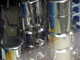 Come lucidare una d'acciaio inossidabile Pot