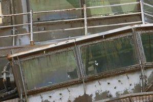 Come rimuovere fisso a doppio pannello in alluminio di Windows
