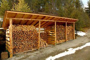 Disegni per costruire una legnaia al negozio legna da ardere