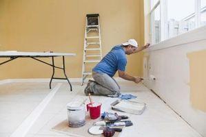 Come calcolare piedi quadrati per interni pittura