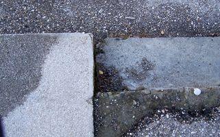 Come riparare fessure Concrete commerciale